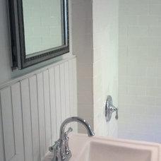 Traditional Bathroom by E.J.Fikar Contracting LLC