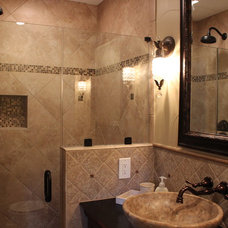 Traditional Bathroom by Karyn Dismore Interiors