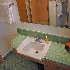 Modern Bathroom by SBaird Design