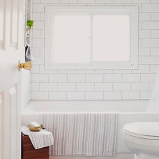 Traditional Bathroom by christina loucks designs + styling