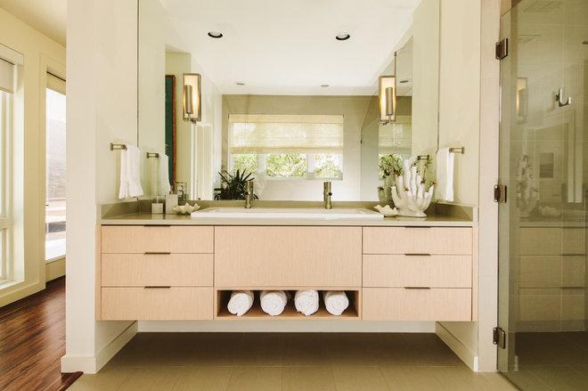 Modern Bathroom by Baxter Design Group