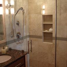 Contemporary Bathroom 1964 Master Bath Redo