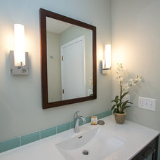 Contemporary Bathroom by ORFIELD DESIGN