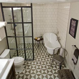 19th Century Parlor inspired Master bath