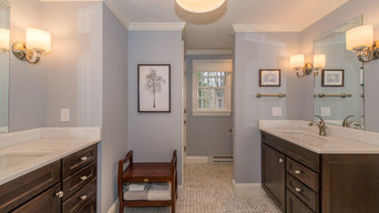 2 Custom Bathrooms & Closets in Boonton Twsp
