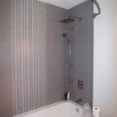contemporary bathroom by 2-hounds.com