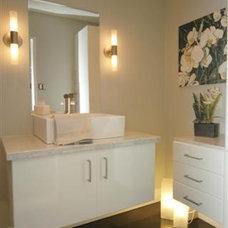 Contemporary Bathroom by 2-hounds.com