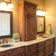 Traditional Bathroom by Douglas Custom Homes
