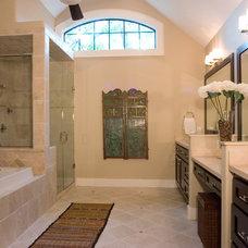 Traditional Bathroom by Stone Acorn Builders