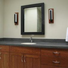 Modern Bathroom by Rochman Design-Build Inc.