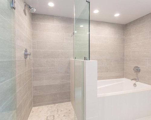 Badezimmer mit eckbadewanne und duschnische design ideen for Badezimmer ideen mit eckbadewanne