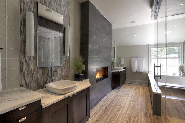 Contemporary Bathroom by Blansfield Builders, Inc.