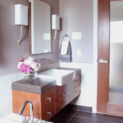 contemporary bathroom by Terri Symington, ASID