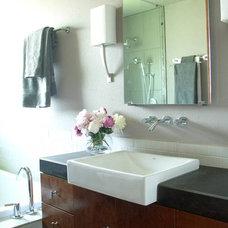 Contemporary Bathroom by Terri Symington, ASID