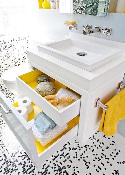 コンテンポラリー 浴室 by De Meza + Architecture
