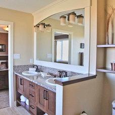 Traditional Bathroom by Milestone Homes