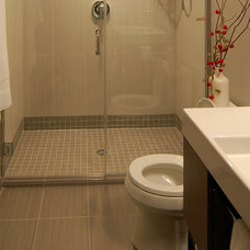 Modern Bathroom by Kaufman Construction Design and Build