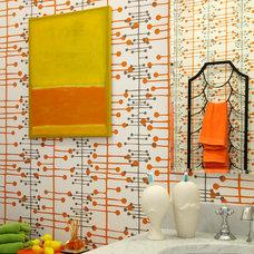 Midcentury Bathroom by Baltimore Design Group