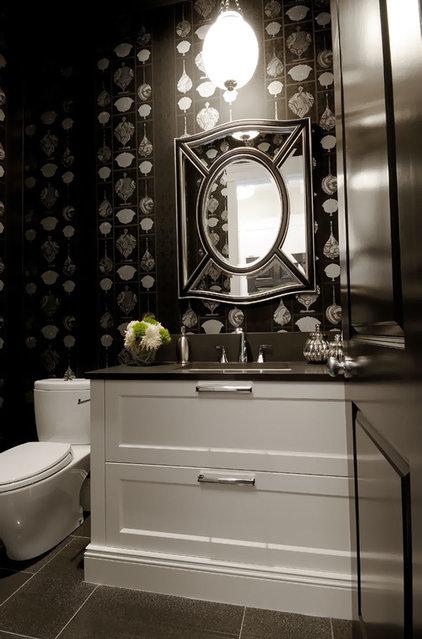 Traditional Bathroom by Atmosphere Interior Design Inc.