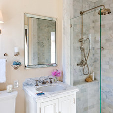 Traditional Bathroom by Farallon Construction Inc.