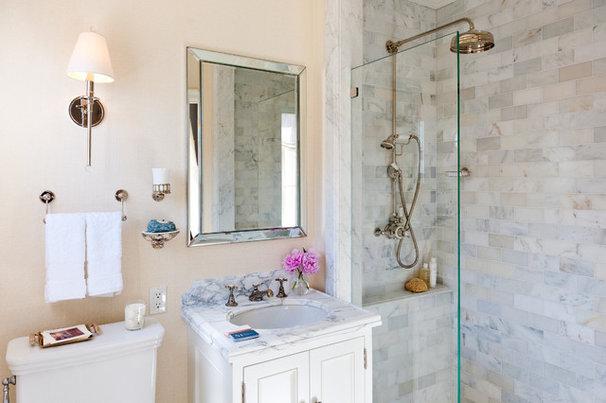 Traditional Bathroom by Farallon Construction Inc.