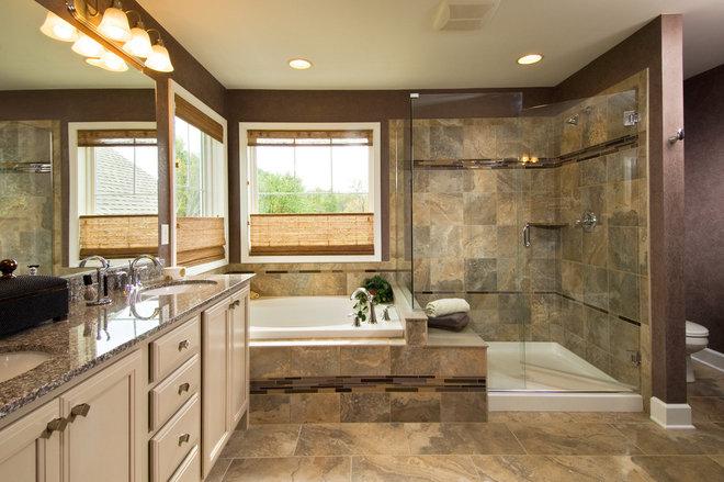 Traditional Bathroom by Belmonte Builders