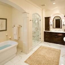 Traditional Bathroom by Eskuche Design