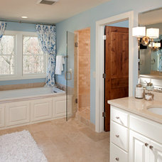 Traditional Bathroom by BohLand Homes