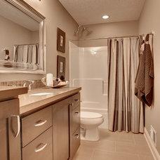 Contemporary Bathroom by Highmark Builders