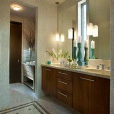 Contemporary Bathroom by Kemp Hall Studio