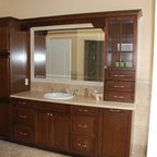Richmond Hill Bathroom Frameless Glass Marble