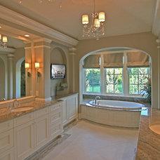 Traditional Bathroom by Charles Cudd De Novo, LLC