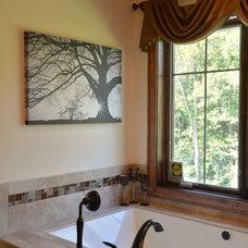 Craftsman Bathroom by Belman Homes