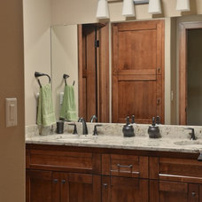 Craftsman Bathroom by Belman Homes