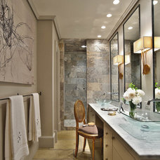 Contemporary Bathroom by DeRhodes Construction