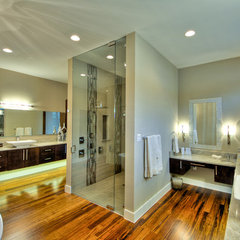 contemporary bathroom by Adam Wilson Custom Homes