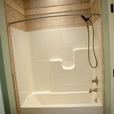 Traditional Bathroom by Stewart Flooring, Inc.