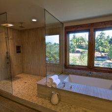 Contemporary Bathroom by Stone Bridge Homes NW