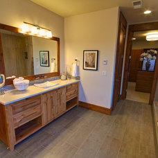 Eclectic Bathroom by Stone Bridge Homes NW