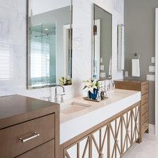 Contemporary Bathroom by Atmosphere Interior Design Inc.