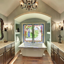 Traditional Bathroom by Michael Lee, Inc