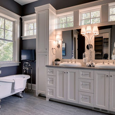 Traditional Bathroom by Highmark Builders