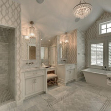 Traditional Bathroom by TC Homebuilders Inc