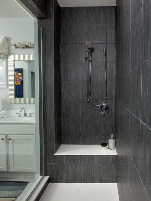 Tiled Shower Seat | Houzz