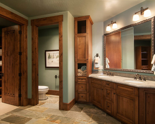 Dark Wood Trim Home Design Ideas, Pictures, Remodel and Decor