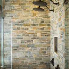 Rustic Bathroom by Cameo Homes Inc.
