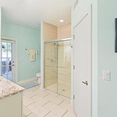 Beach Style Bathroom by NWC Construction