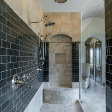 Transitional Bathroom by Jennifer Spergl, REALTOR