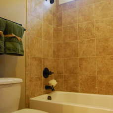 Traditional Bathroom by Satterwhite Construction Inc.