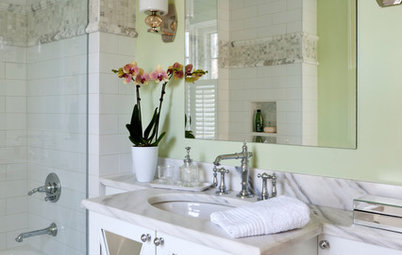 21st-Century Amenities for an Old-Time Show House Bath